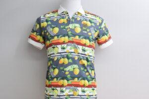 マークアンドロナ メンズ ポロシャツ レモン柄 Mサイズ 買取価格