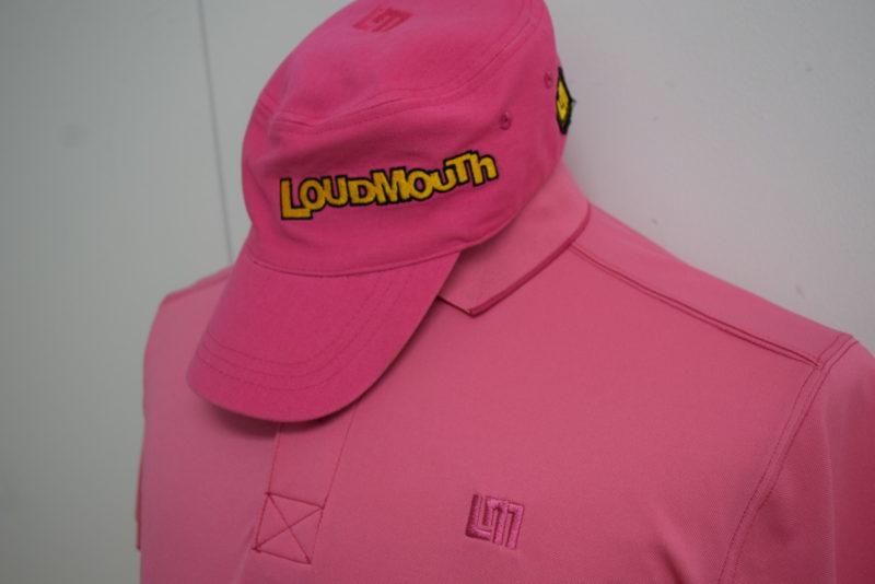 LOUD MOUTH ラウドマウス メンズ ポロシャツ キャップ セット