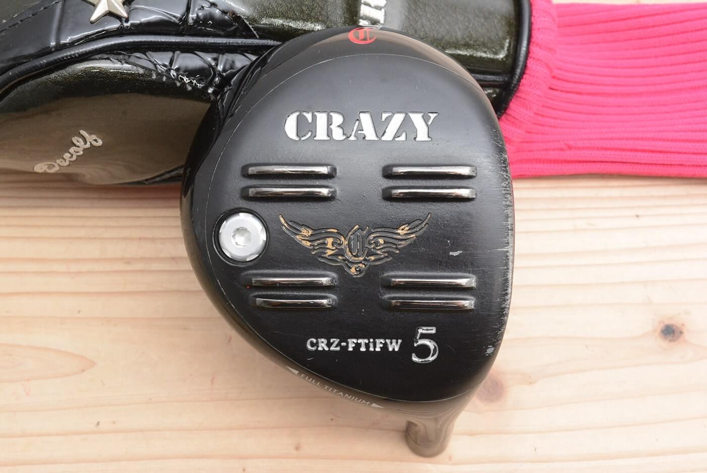 クレイジー CRAZY CRZ-FTi FW フェアウェイウッド 5W 18.5° ヘッドのみ