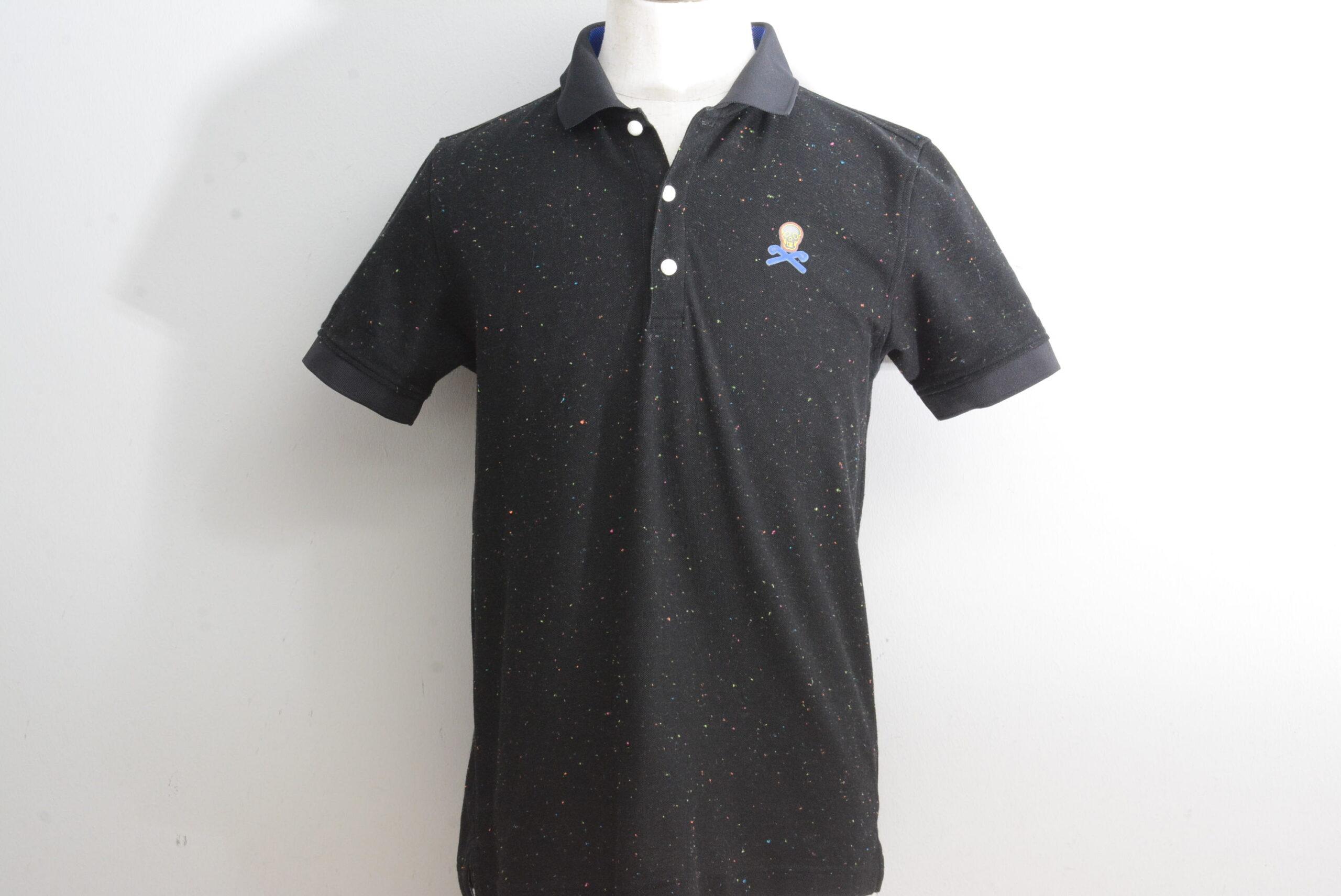マークアンドロナ メンズ ポロシャツ ブラック Mサイズ