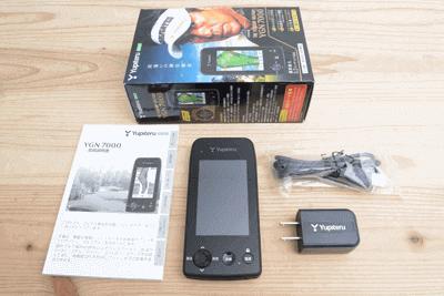 ユピテル YGN7000 ブラック ゴルフナビ GPSゴルフナビ 正規品 YGN-7000 高低差